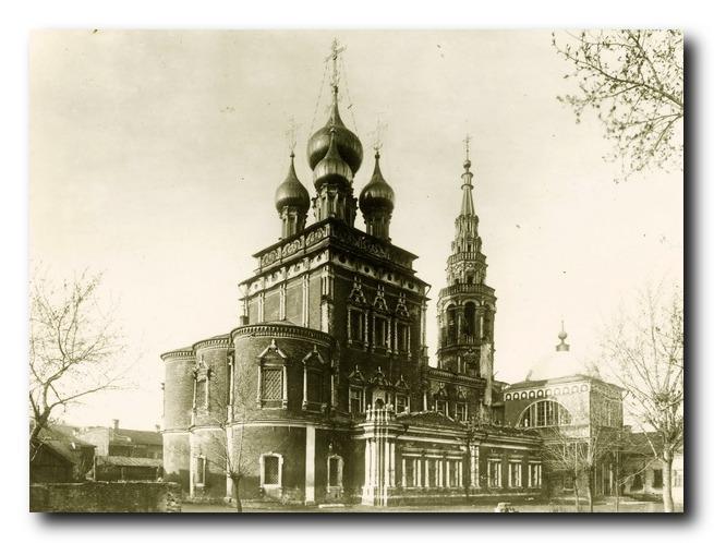 Храм Воскресения Христова в Кадышах